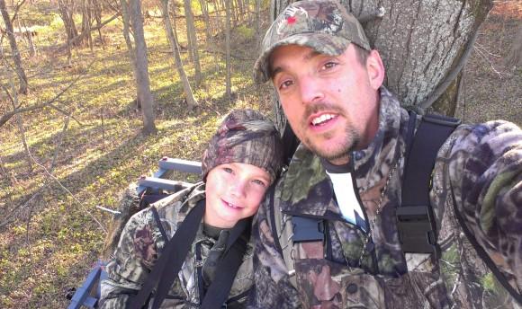 Matt Staser with his son, Aiden
