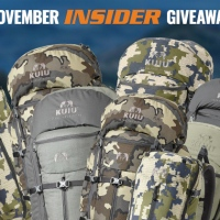 goHUNT November Giveaway - 10 KUIU Backpacks