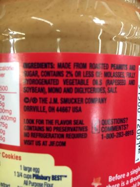 This Peanut Butter has Everything but the Kitchen Sink in It.