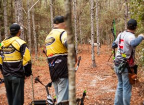 Dealing with Obstructions is a Part of Hunting (Photo Courtesy of lancasterarcher.com)