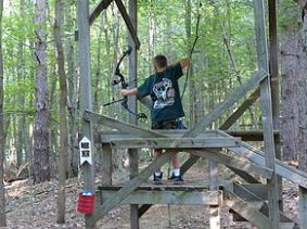 Shooting from and Elevated Position (Photo Courtesy of pawpawconservationclub.com)