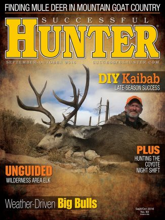 SeptOct Successful Hunter Cover