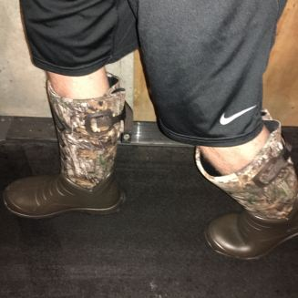 The Boots Easily Flexed with the Movement of my Feet.