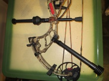 My bow with the offset bar and DX Hunter Stabilizer.