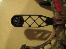 My bow with the Hex Series Stabilizer.