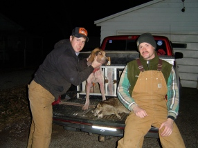 It Was Cold This Night But Chasing Rocky Around Kept us Plenty Warm.