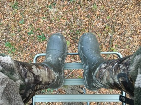 My Feet Remained Warm During Several Below Freezing Hunts.
