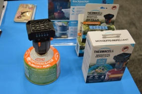 The Backpacker Mosquito Repeller from Thermacell