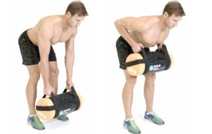 Sandbags Work Just Fine (Photo Courtesy of menshealth.com)