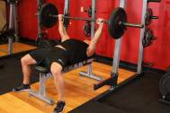 Bench Press Working the Chest (photo courtesy of bodybuilding.com)