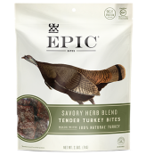 Turkey Bites Are In My Pack This Year.