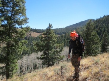 My hunting partner loves to get higher and farther than anyone else. It makes for a grueling but rewarding hunt.