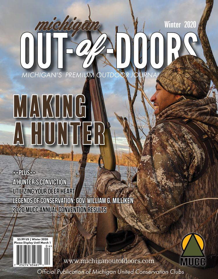 Michigan Out of Doors Winter Cover